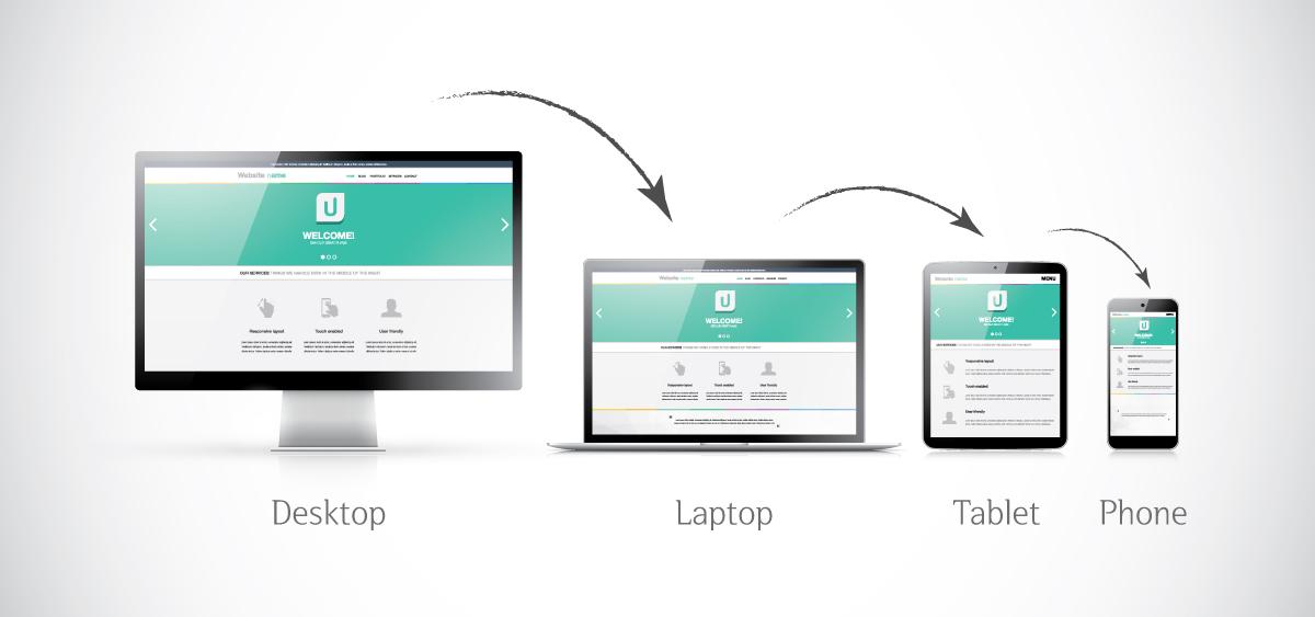 반응형 웹 - responsive-web